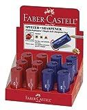 Dosen-Spitzer Einfach Rot-Blau Sortiert 183301, Liefermenge = 12