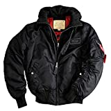 Alpha Industries MA-1 D-tec Jacket 183110 (M, black/black)
