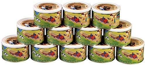 (6,20 EUR/kg) 12 Dosen a 250g Modersohn Dosenbrot, echt westfälisches Roggenvollkornbrot