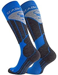 High Performance Thermal SKI and SNOWBOARD Socks for Men and Ladies, Special Padded for better Protection