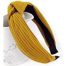 axy HR34Superbe serre-tête en tissu avec nœud Style rétro