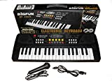 #1: Magicwand 37 Key Piano Keyboard Toy with Recording and Mic & Mobile Charger Power Option