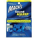Mack 's® soundasleep espuma suave tapones para los oídos (12 pares)