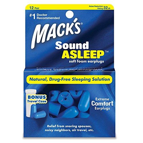 Mack soundasleep espuma suave tapones oídos