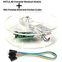 Innovateking-EU Sensor de Peso de celda de Carga Digital HX711 AD Converter Breakout Module