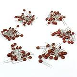 Generic - 1000 Stück 50 Werte 50V Keramikkondensator sortierten Sortiment Kit Set(1pf-100nf,20*50 Stück)