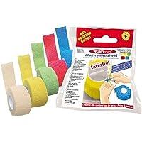 5 Farben Pflaster Kohäsiv Selbsthaftend Bandagen Fingerpflaster Fingerverband preisvergleich bei billige-tabletten.eu