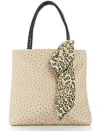 Leora Women's Handbag (Cream) (HNMG1129CR)