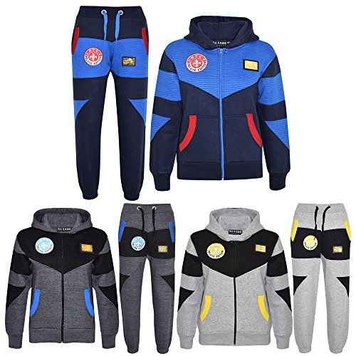 A2Z 4 Kids® Kids Tracksuit Boys Deluxe Edition Hoodie Bottom Jogging Suit New Age 7 8 9 10 11 12 13 Years
