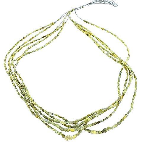ORO Drusy perline di diamante PATATE 2.5-5mm FORMA 16