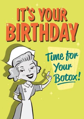 vintage-ora-per-botox-biglietto-di-auguri-per-il-compleanno