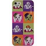Akashi Coque pour iPhone 5/5S Puppies color