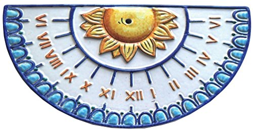 Ceramica vietrese artistica italiana dipinta a mano, pannello da parete