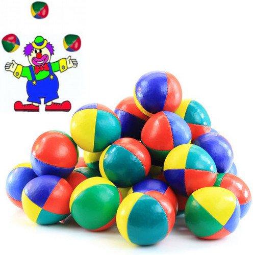German Trendseller® - 12 x Jonglierbälle Zirkus l 60 mm┃ Jongleur ┃ Lernen ┃ Für Artisten und Zirkus ✔