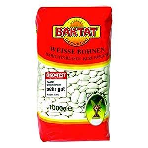 Baktat Weiße Bohnen , 1er Pack (1 x 1 kg Packung)