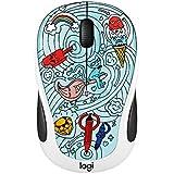 Logitech 910–005027M325C Wireless mouse-bae-bee blau