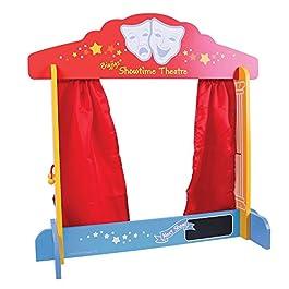 Bigjigs Toys sipario da Tavolo per Marionette