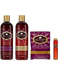 Hask - Gamme Hydratante Macadamia Oil - Shampoing & Soins - 4 produits