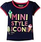 #8: Donuts Baby Girls' T-Shirt (269783175 NAVY 06M HS)
