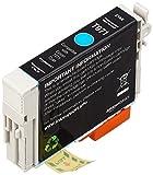 AmazonBasics - Wiederaufbereitete Tintenpatrone für Epson T071 Cyan