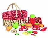 Picknick-Korb im Erdbeerdesign