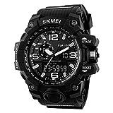 Best Digital Wristwatches - SKMEI Men's Quartz Watch LED Waterproof Sport Analog Review