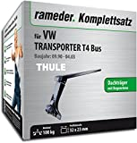 Rameder Komplettsatz, Dachträger SquareBar für VW TRANSPORTER T4 Bus (116336-00463-7)