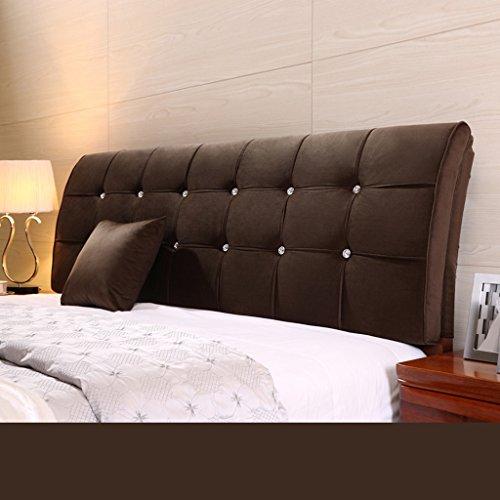 Dossier De Chevet Pure Color Bedhead Soft Protector Sac en maille doux au couvre-oreillers Oreiller ergonomique Design Bedside Big Pillow Lumbar 62 * 200cm (Couleur : C)