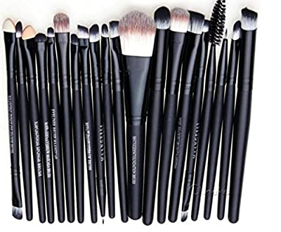 WANGSAURA® Pro Cosmetic Makeup 20pcs Brushes Set Powder Foundation Eye shadow Eyeliner Lip Brush Tool