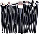 WANGSAURA® Pro Cosmetic Makeup 20pcs Brushes Set Powder Foundation Eye shadow Eyeliner Lip Brush Tool