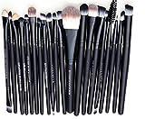 Beauty Best Deals - WANGSAURA® Pro Cosmetic Makeup 20pcs Brushes Set Powder Foundation Eye shadow Eyeliner Lip Brush Tool