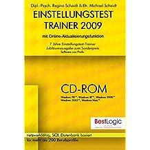 Einstellungstest-Trainer 2009