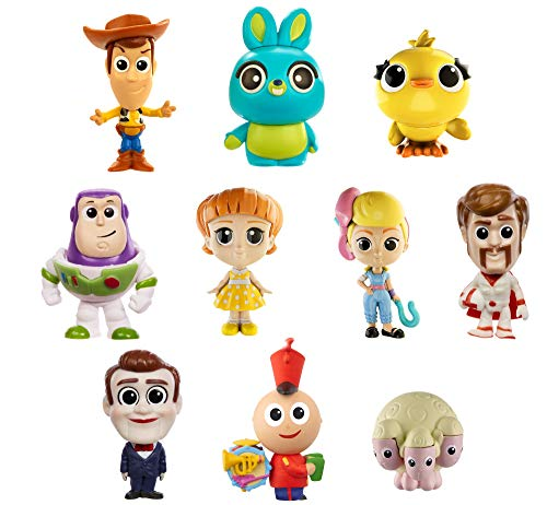 Mattel Disney Toy Story 4 Pack de 10 amiguitos, Mini Figuras...
