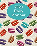 2020 Daily Planner: Macarons; January 1, 2020 - December 31, 2020; 8' x 10'