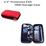 Hard Disk Case - 2.5 Portable Protective...