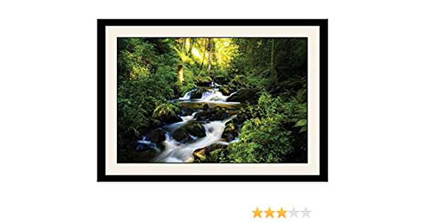 Artstory Wooden Water Flowing Scenery Framed Wall Painting 26 Cm X 16 Cm X 2 Cm Amazon In Home Kitchen