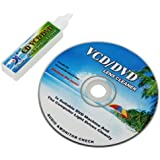 Kit Nettoyant Nettoyeur Nettoie fluide Lecteur CD DVD ROM Pour PS2 PS3 Laptop PC Jeux