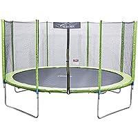 Terena Trampolin 427 cm mit Netz Sicherheitsnetz Gartentrampolin für Kinder 14ft …