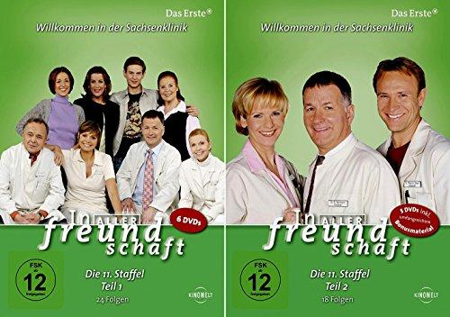In aller Freundschaft - Staffel 11 Komplett (Teil 11.1+11.2) * DVD Set