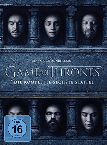 game of thrones staffel 6 deutsch dvd Game of Thrones - Die komplette sechste Staffel [5 DVDs]