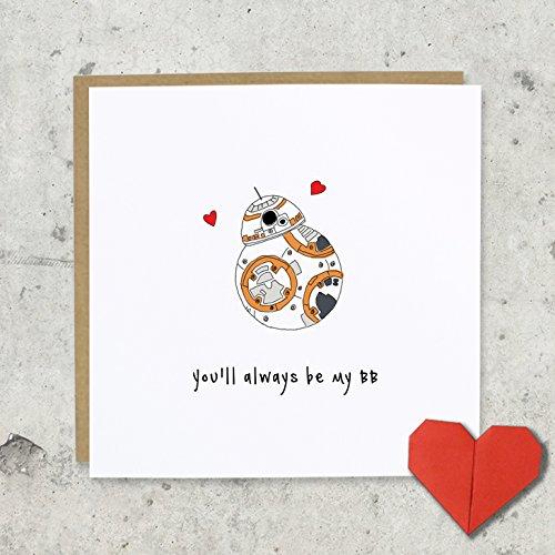 tarjeta-de-felicitacion-con-texto-en-ingles-youll-always-be-my-bb-dia-de-san-valentin-boda-aniversar
