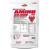 BWG Amino 20.000, Aminosäuren Komplex mit 900 Tabletten, Massiv, hochdosiert, Bioaktiv, mit BCAA`S, Vorratspackung... preisvergleich bei fajdalomcsillapitas.eu