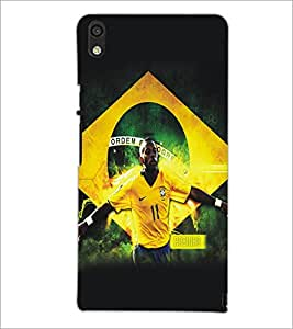 PrintDhaba Sports D-5194 Back Case Cover for HUAWEI ASCEND P6 (Multi-Coloured)