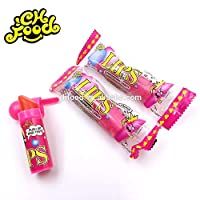 Lipstick Shape Hard Candy for Kids Imported Candy- Free Shipping (Pack of 6)