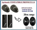 Aprimatic ER 10 / Aprimatic ER 180B fotocélulas de infrarrojos compatible. Par de universal fotocélulas infrarrojas Sensores de seguridad! Haz de segu