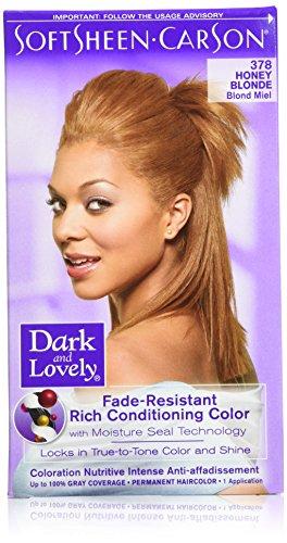 Dark and Lovely Coloration capillaire - Couleur 378 Blond miel (Ensemble de 3)
