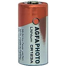 Agfaphoto Batería De Litio, Cr123A 3V Ampolla Al Por Menor (1-Pack)