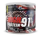 Muskelaufbaumittel - Premium Eiweißpulver by BBGENICS - High Protein 91% - (Whey & Casein) 750g Schoko