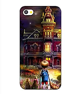 APPLE I PHONE 5 PRINTED BACK COVER BY aadia