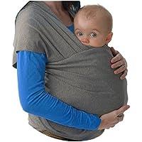 Fascia Porta Bebè - baby wrap ✮ Elastica porta Bambino ✮ Marsupio Fascia Neonato ● Tenere il bambino vicino al tuo Cuore